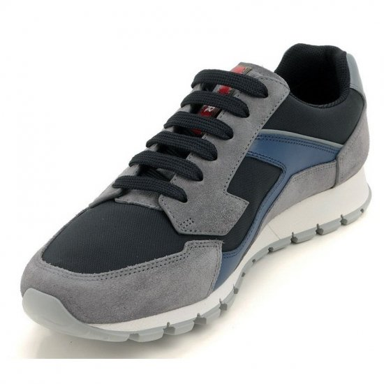 Αντρικά Sneakers PRADA GREY/BLUE 4E2830 OZ6 F011E