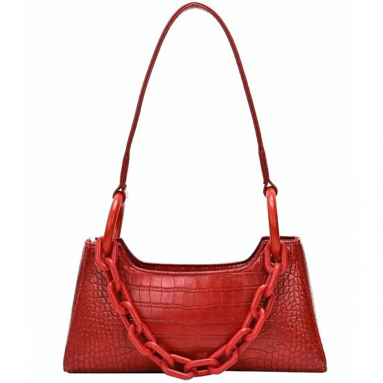 EROS eco leather bag 100% Red