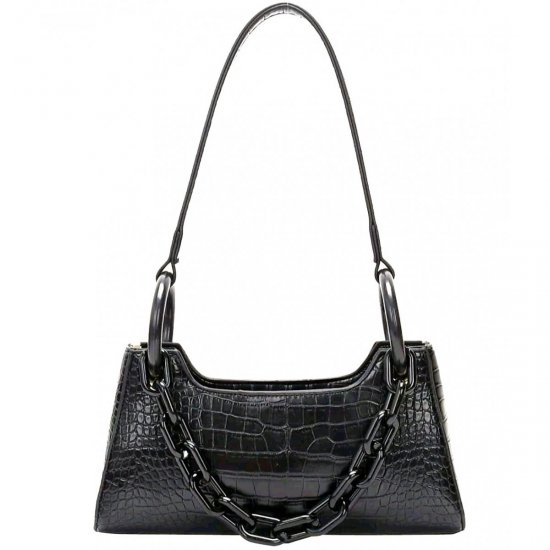 EROS eco leather bag 100% Black