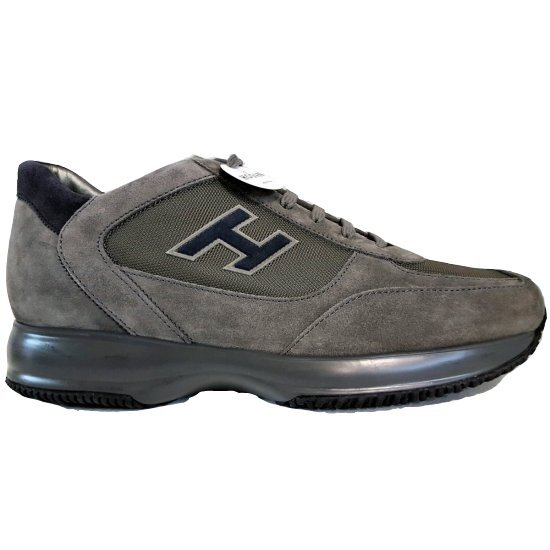 Men's Sneakers Hogan Interactive Grey HXM00N0Q101B2A4190